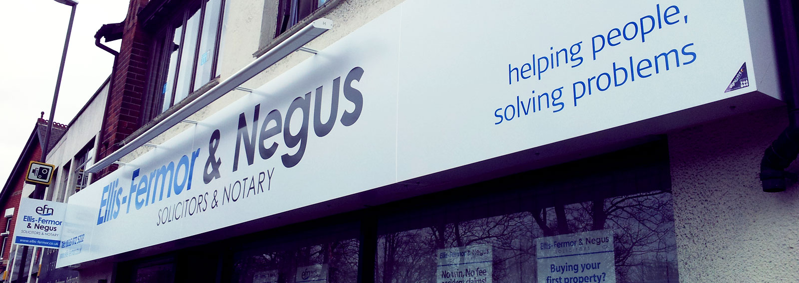 ellis-fermor and negus exterior sign